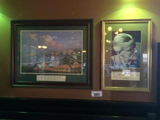 Pair of Prints  Golf Success   James Joyce