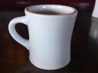 Oneida Bright White Coffee Mug