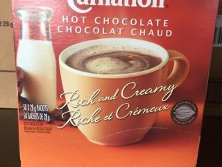 Box of Hot Chocolate   50 x 28g Packs
