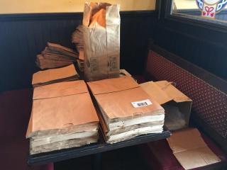 lOT  lg  Qty  Assorted Paper   Plastic Bags