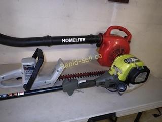 Ryobi & Homelite Yard Tools