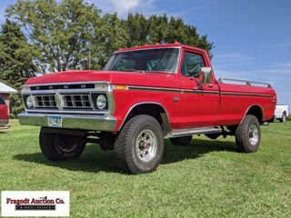 1975 Ford F-250 Ranger Hiboy with Fresh 390 engine