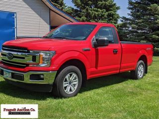 2018 Ford F-150 regular cab, 8? box, 3.3L V-6, aut