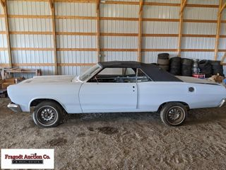 1966 Mercury Comet convertible, most body work don