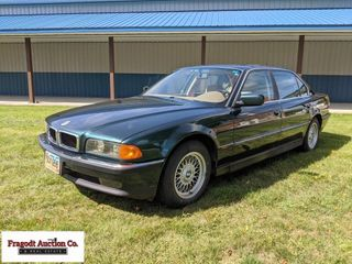 1996 BMW 740 1L, V8 engine, auto transmission, run