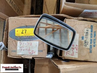 Ford New Old Stock rear view mirrors