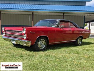 1966 Mercury Comet Cyclone GT, all original 390 4V