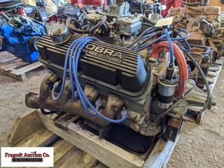Rebuilt 302 engine with King Cobra racing heads an