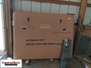 ?69-?70 Mustang complete floor pan assemble and