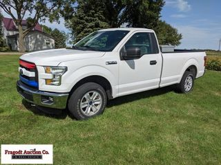 2017 Ford F-150 XL, standard cab, 8? box, 5.0 Coyo
