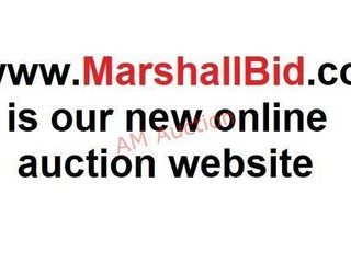 Please see Marshallbid.com for all of our Auctions