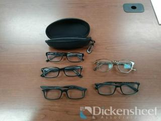 5 READING GLASSES LOT-