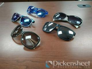 50 SUNGLASSES AS PHOTOGRAPHED