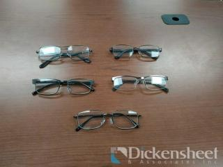 40 READING GLASSES AS PHOTOGRAPHED
