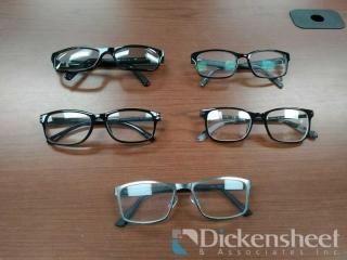 20 FASHION GLASSES AS PHOTOGRAPHED