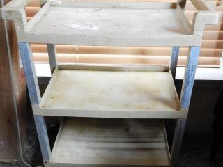 Lot # 1570 - Rubbermaid three tier tea cart/