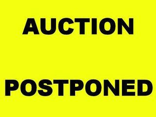 THIS AUCTION HAS BEEN POSTPONED EFFECTIVE 5/11/20