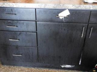 Lot # 1584 - Custom made six drawer two door