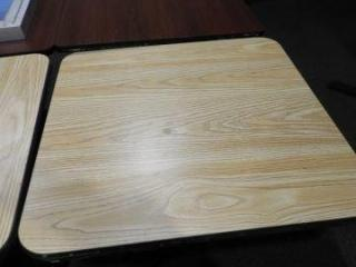 Lot # 1608 - (2) 29? x 30? dining tables one