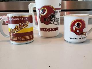 Redskins Cups