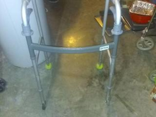 Drive Walker with Tennis Rollers