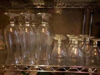 Lot 26 Glassware