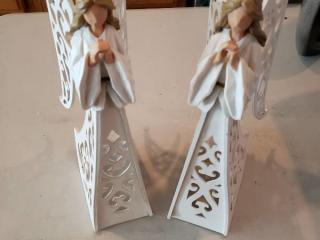 Wooden Christmas Angels