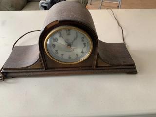 Vintage Revere Telechron Mantle Clock Not Working
