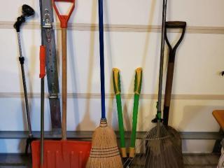 Lot of Yard Tools.