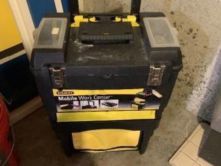 Stanley Mobile Work Center Stacking Toolbox