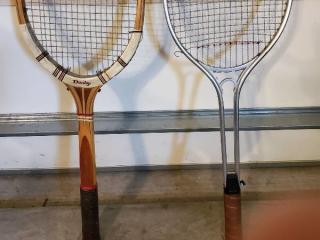 Lot of 2 Tennis Rackets
