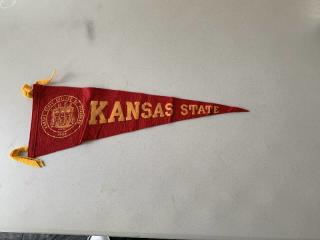 Kansas State College of Pittsburgh Russ Hall Pennant