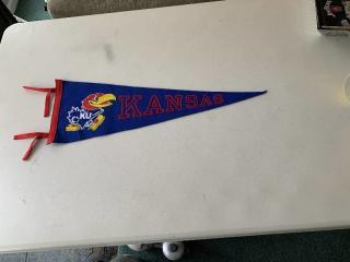 KU University of Kansas Pennant