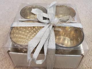 Set of 4 Domain Tea Candle Holders