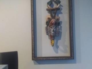 African Mask Wall Art