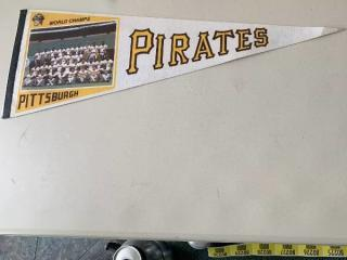 Pittsburgh Pirates 1971 World Champs Pennant
