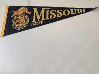 Vintage Missouri Tigers Pennant