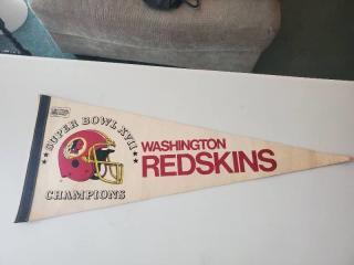 Super Bowl XV11 Washington Redskins