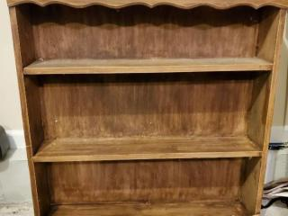 Wooden Shelf with Tiers
