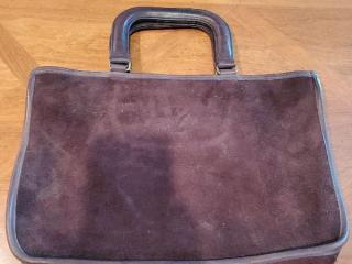 Vintage Authentic Brown Leather Coach Purse