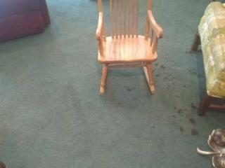 Miniature Rocking Chair
