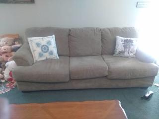 Beige 3 Seater Couch