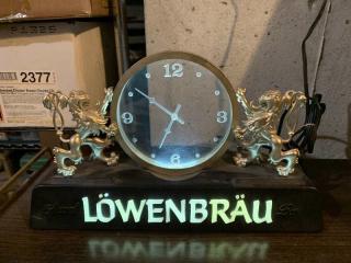 1980 Lowenbrau Beer Clock