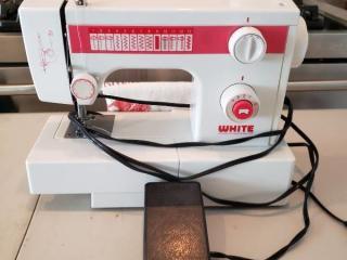 White Sewing Mechine