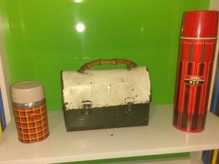 Vintage THERMOS and Lunchbox Combo