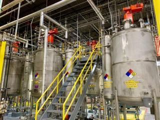 600,000 SqFt Liquid Soap, Detergent and Surfactant Plant