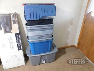 Assorted Plastic Tubs lids 2 jpg