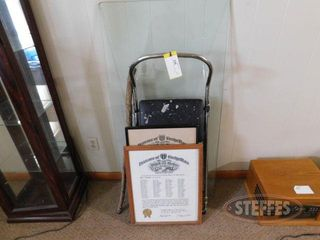 Step Stool Glass Piece 2 Picture Frames 2 jpg