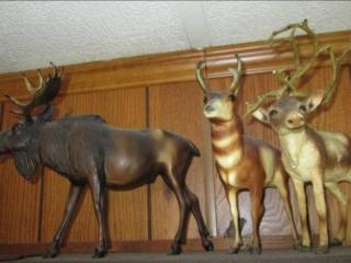 (3) Animal Figurines...