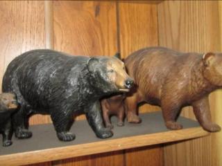 Bear Statues...